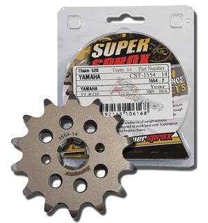 piñon acero superprox 1554 14T-520 YAMAHA TTR 230/YFS 200 BLASTER