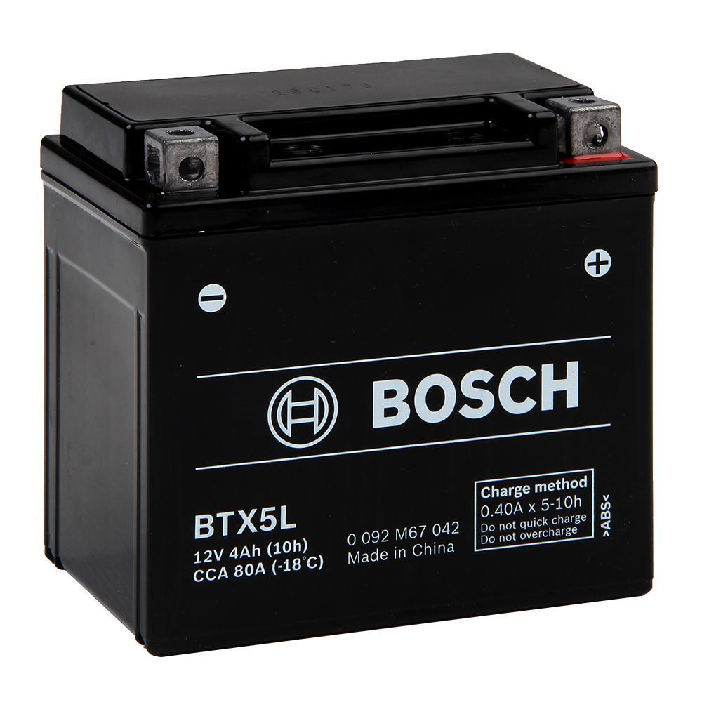 bateria bosch btx5l biz125 cg150 titan xr nxr125