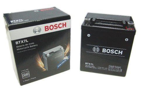 bateria bosch btx7l cbx250 falcon ybr250 xtz250