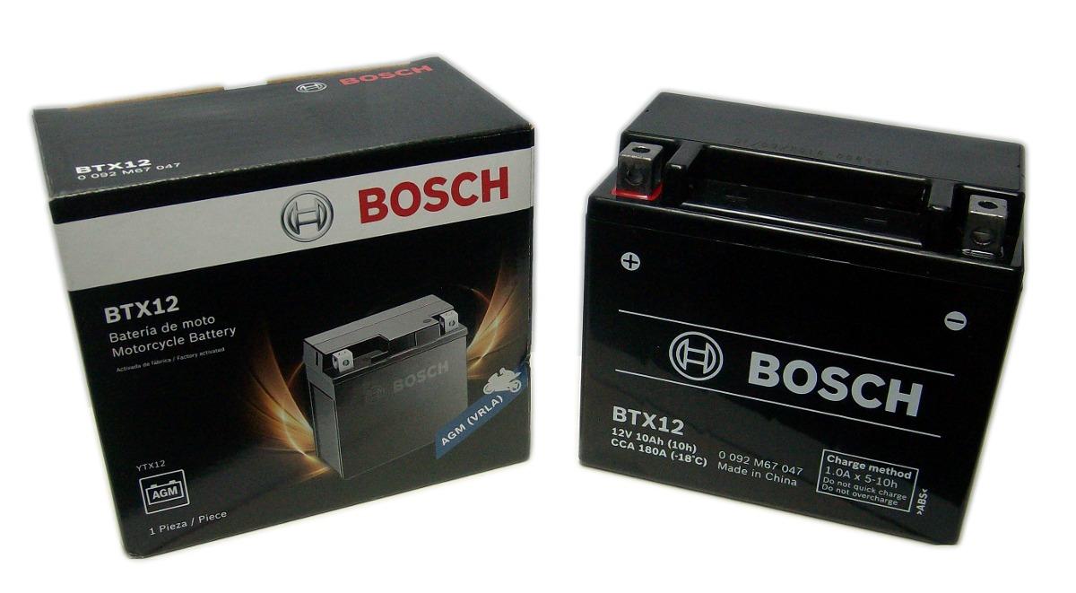 bateria bosch btx12 ninja zx6  DL650