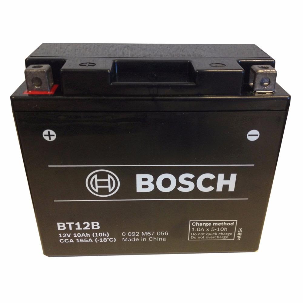 bateria bosch bt12b ducati monster 696 multistrada 1200 fazer