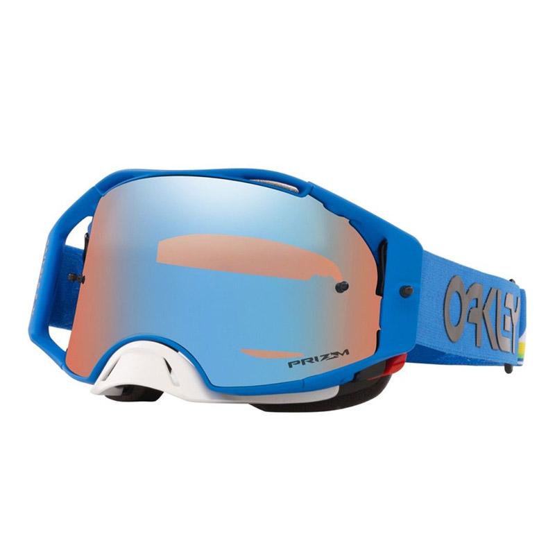 antiparra oakley airbrake mx heritrage stripe azul przm mx sapp irid