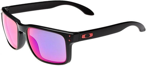 oakley anteojo holbrook matte black w/+ red iridium