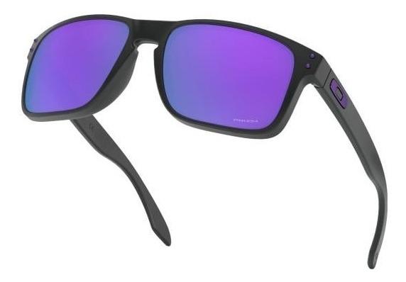 oakley anteojo holbrook matte black prizm violet