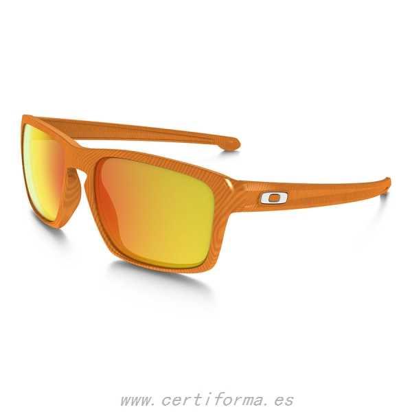 oakley anteojo fingerprint atomic orange w/firei