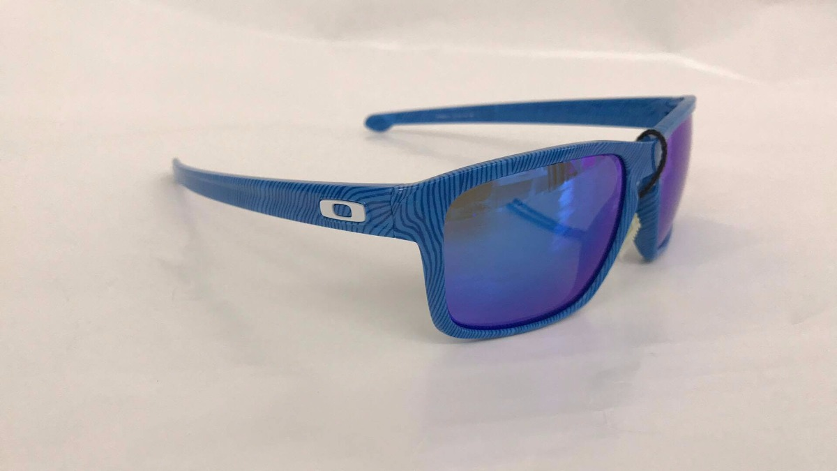 oakley anteojo fingerprint sky blue w/sapphire I