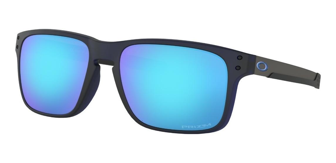 oakley anteojo holbrook mix przm sapp matte translucent blue