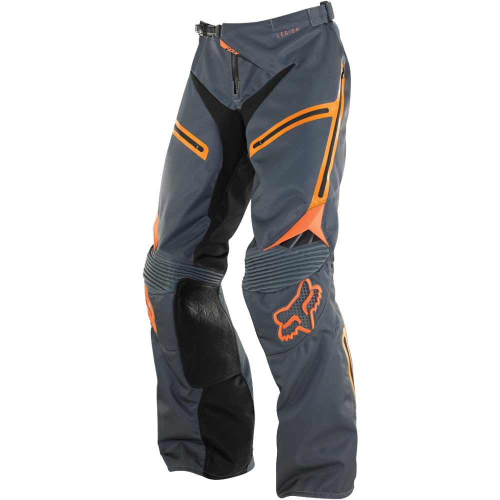 pantalon fox legion ex pnt gey/orange talle 38