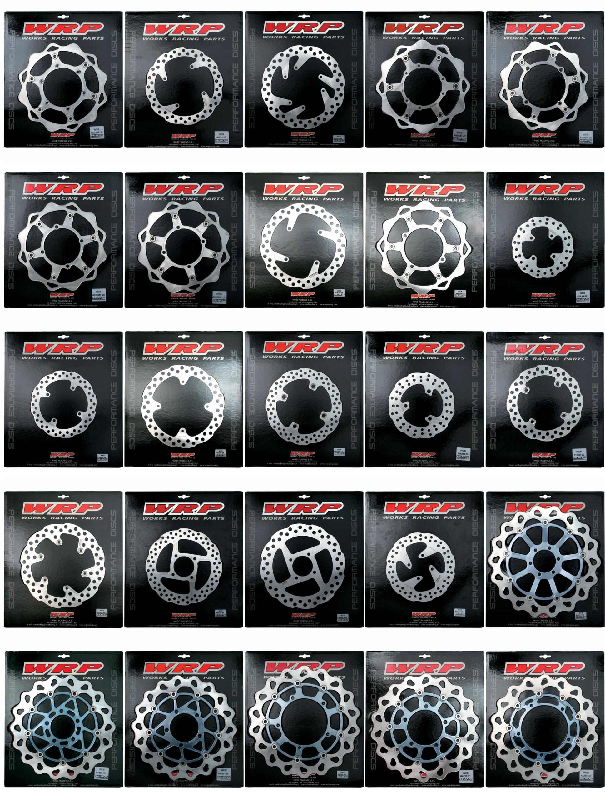 disco freno wrp delamtero yamaha yz yzf wr 01/13 250mm