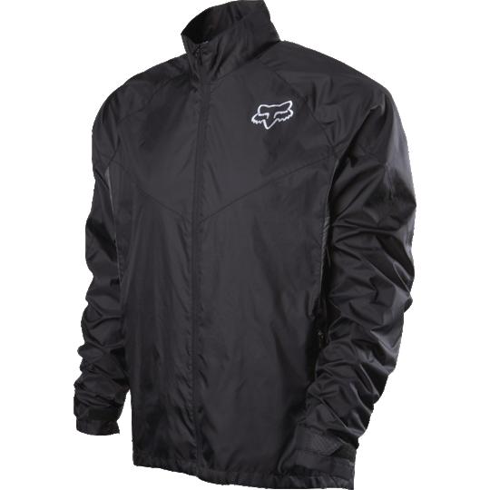 campera fox dawn patrol jacket negra talle s