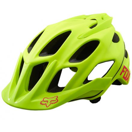 casco fox flux (bici) amarillo S/M