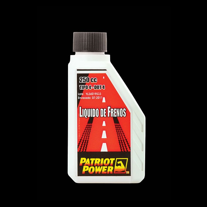 patriot power liquido de frenos dot4 200cc