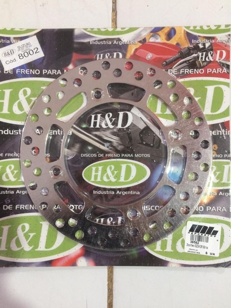 disco freno suzuki dr 350 trasero 220 x 118
