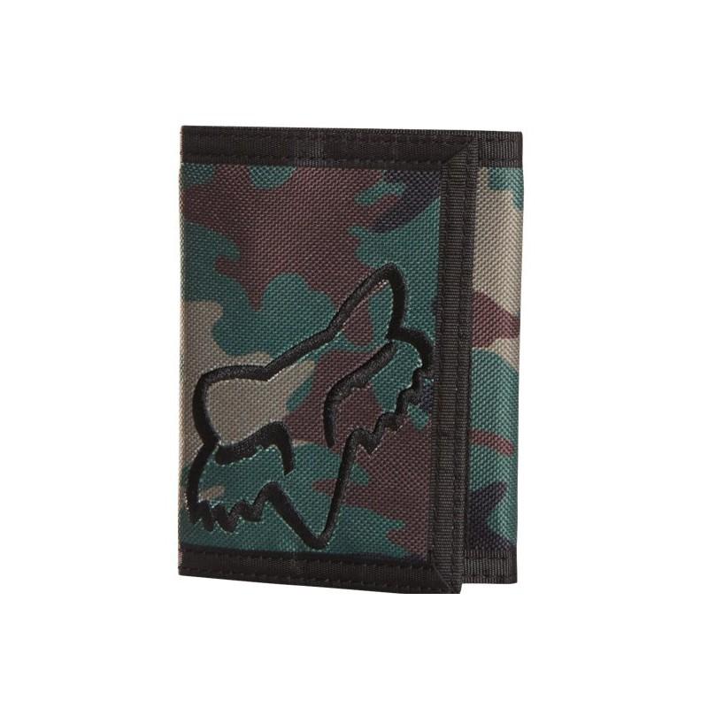 billetera fox mr clean velcro wallet camuflada