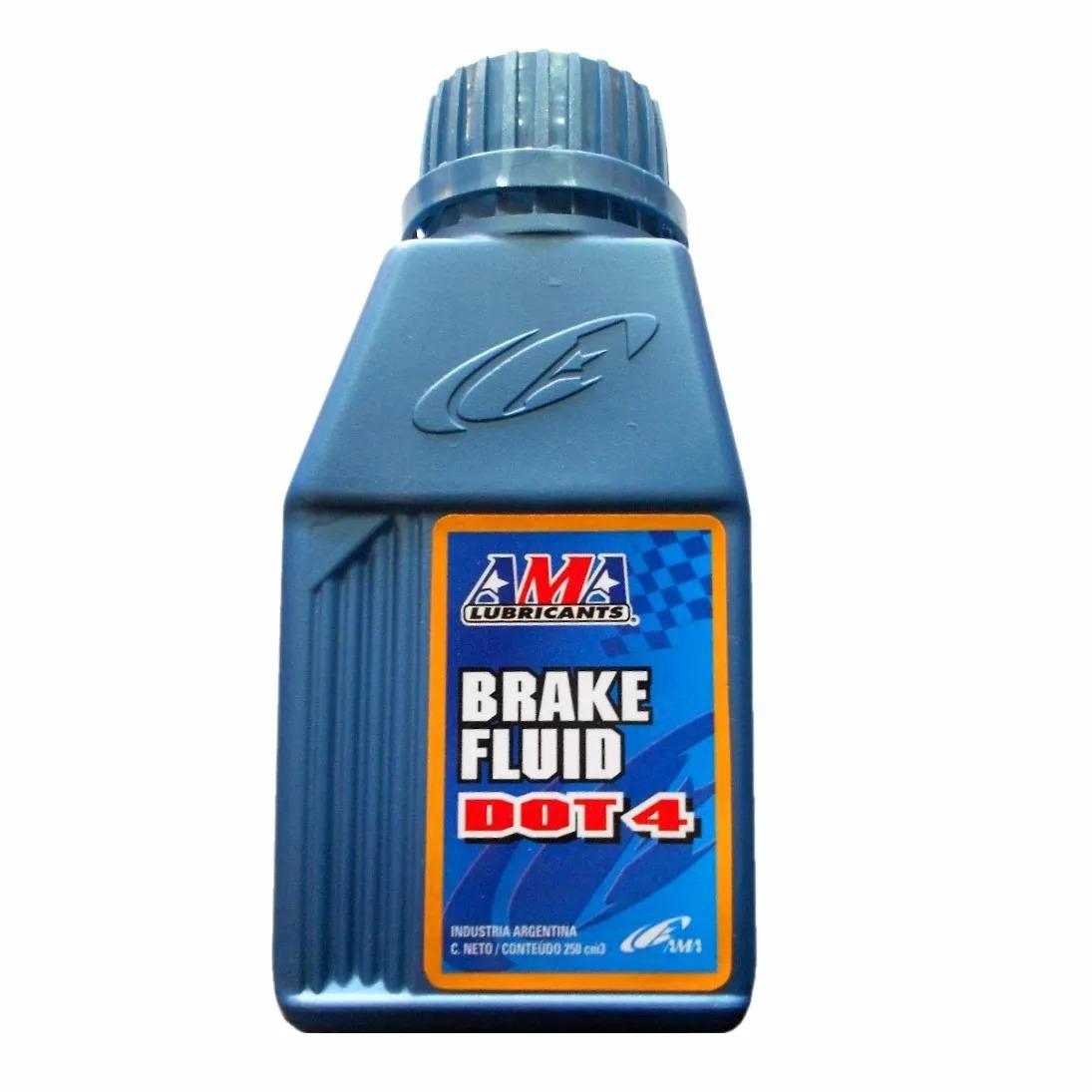 ama liquido freno dot4 200cc brake fluid
