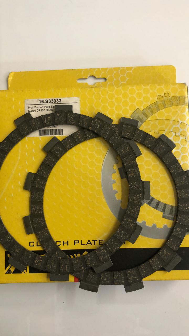 discos embrague prox suzuki dr350 90/99 set