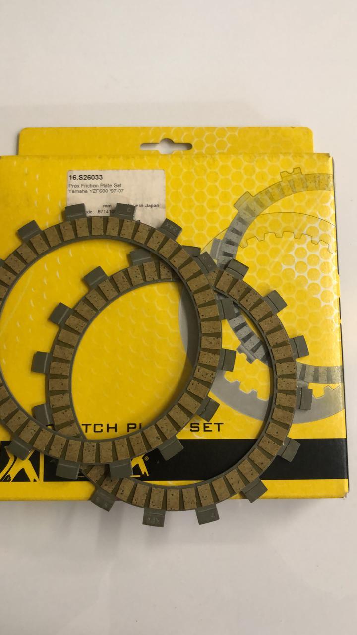 discos embrague prox yamaha yzf600 97/07 set