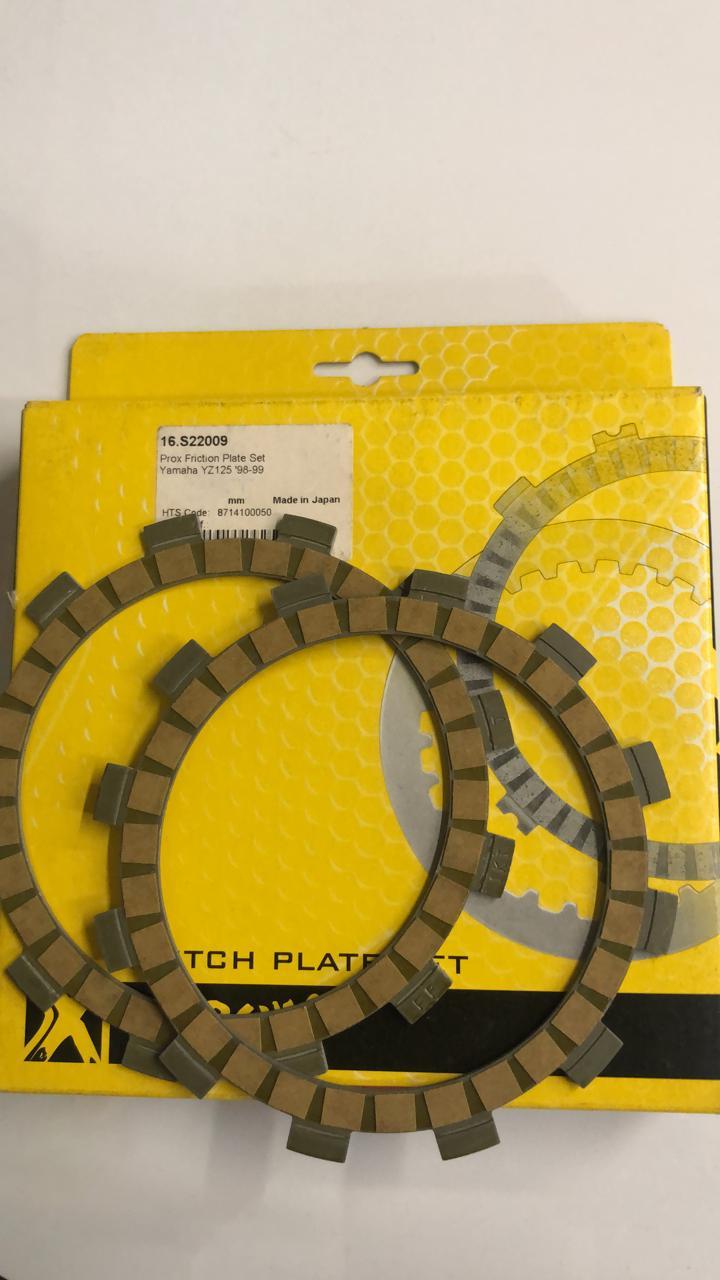 discos embrague prox yamaha yz125  98/99 set