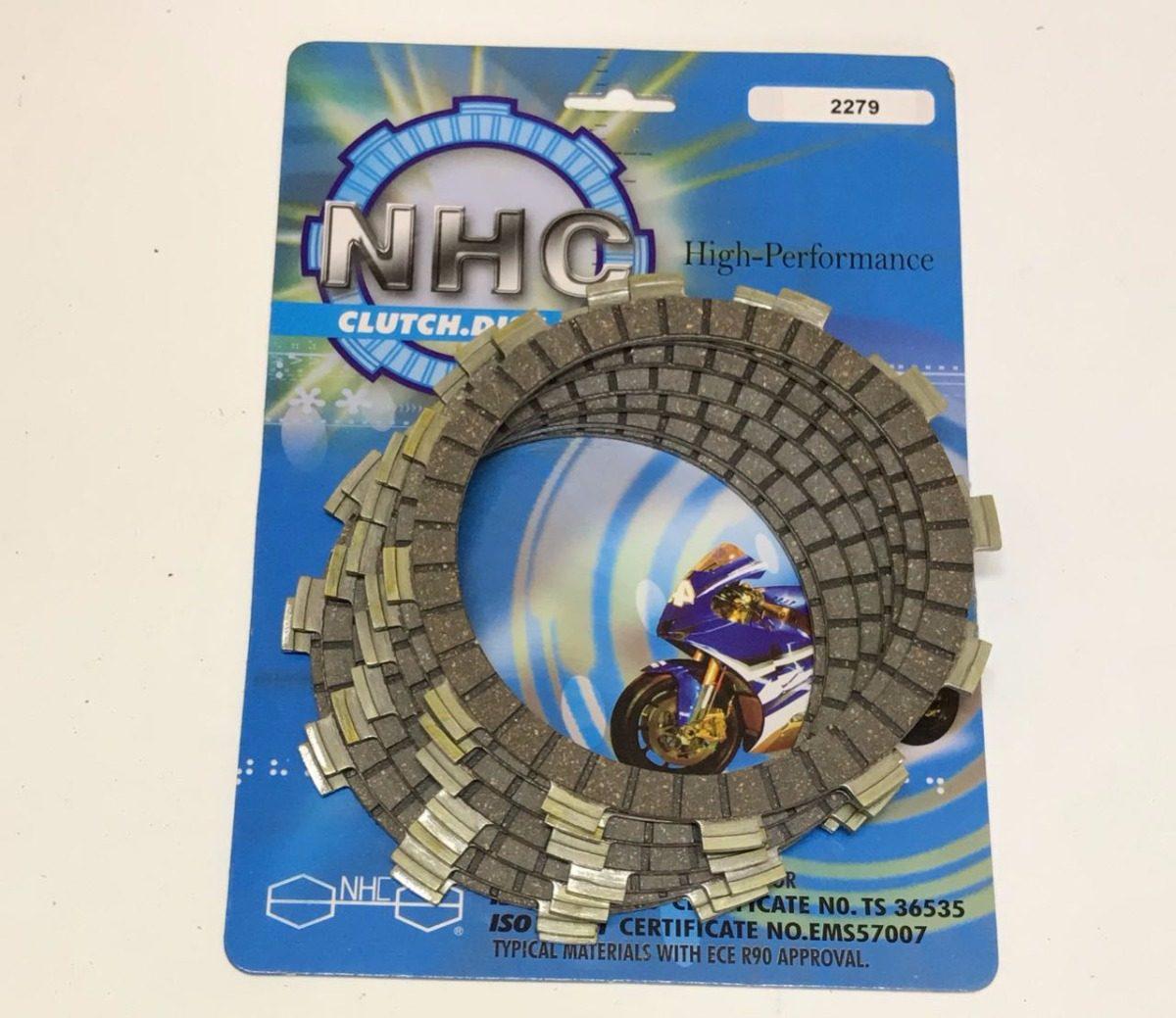 discos embrague nhc honda titan trx 250 re97/09 cr 80/85 84/0