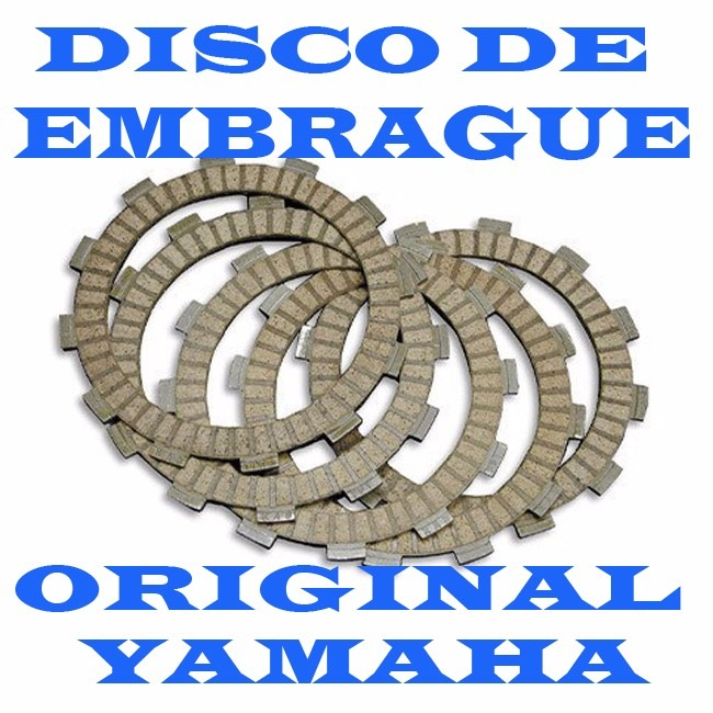 discos embrague yamaha yz 250 yzf 450 original
