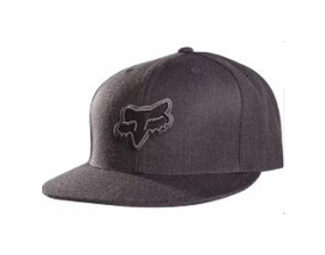 gorra fox logical fitted hat talle s/m