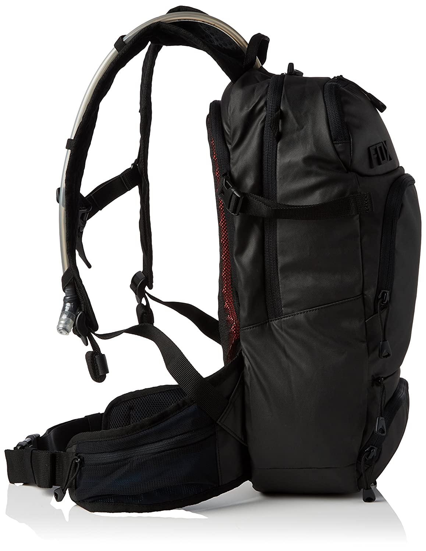 mochila fox hydration pack negra (capacidad 3lts de agua)