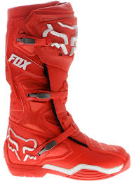 bota fox comp 8 talle usa 14 roja