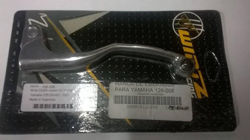 manija embrague yamaha yzf 250 450 00/09 yz 125 250 00/09 wirtz