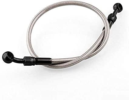 flexible freno 85cm malla acero inox