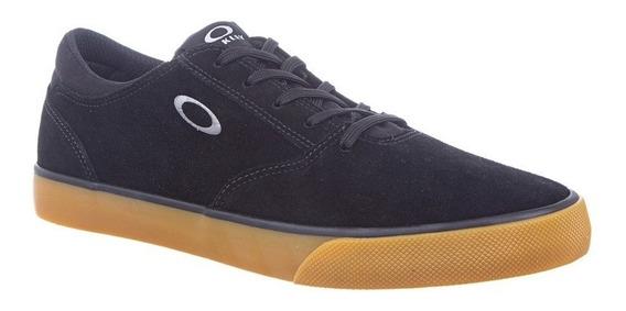 oakley zapatillas jet black azul adulto talle 10