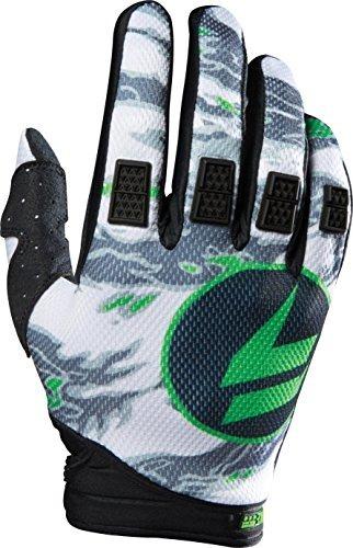 guante shift strike negro/verde talle s