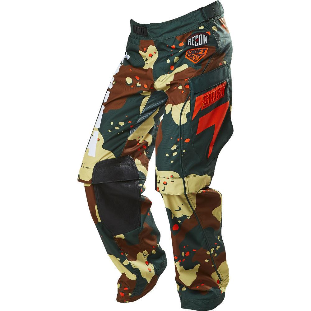 pantalon shift recon camo verde camuflado talle 34