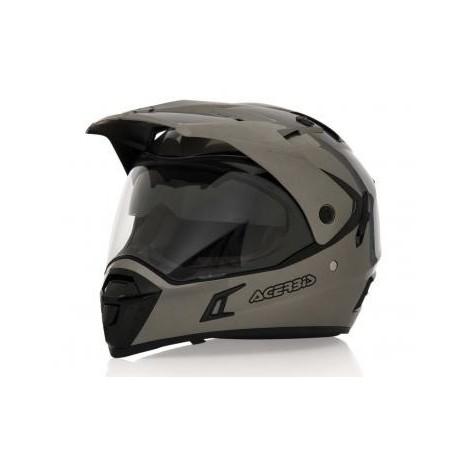 casco acerbis active grey talle l (59-60cm)