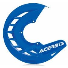cubre disco delantero x-brake azul acerbis