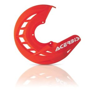 cubre disco delantero x-brake rojo acerbis