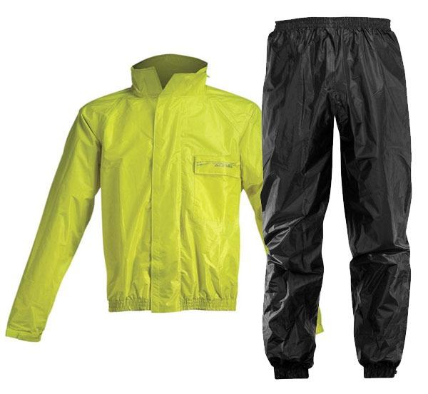 traje de lluvia logo fluor acerbis talle xxxl