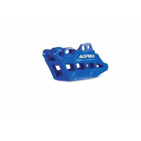 guia cadena completo yamaha azul acerbis