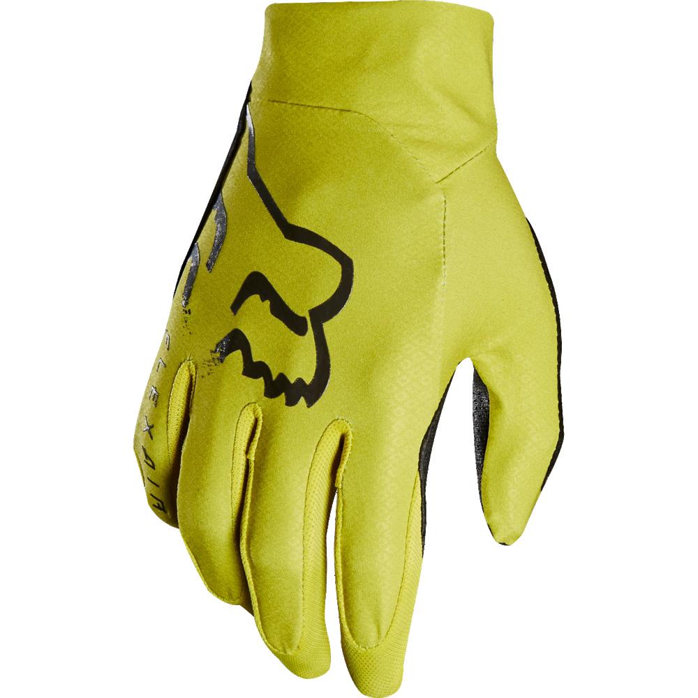 guante fox flexair amarillo talle s