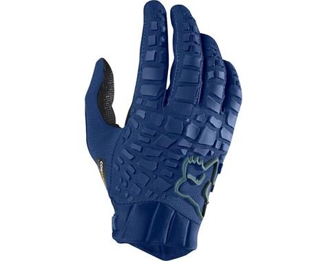 guante fox sidewinder glove azul talle l