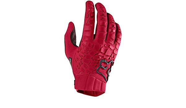 guante fox sidewinder glove rojo talle l
