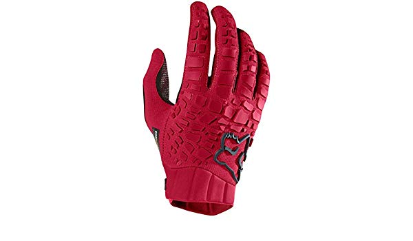 guante fox sidewinder glove rojo talle m