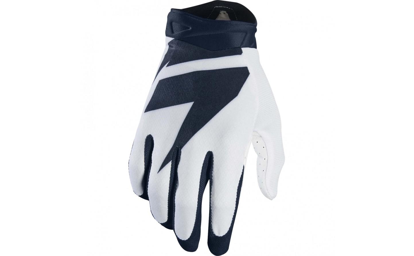 guante shift 3lack air glove blanco/negro talle m