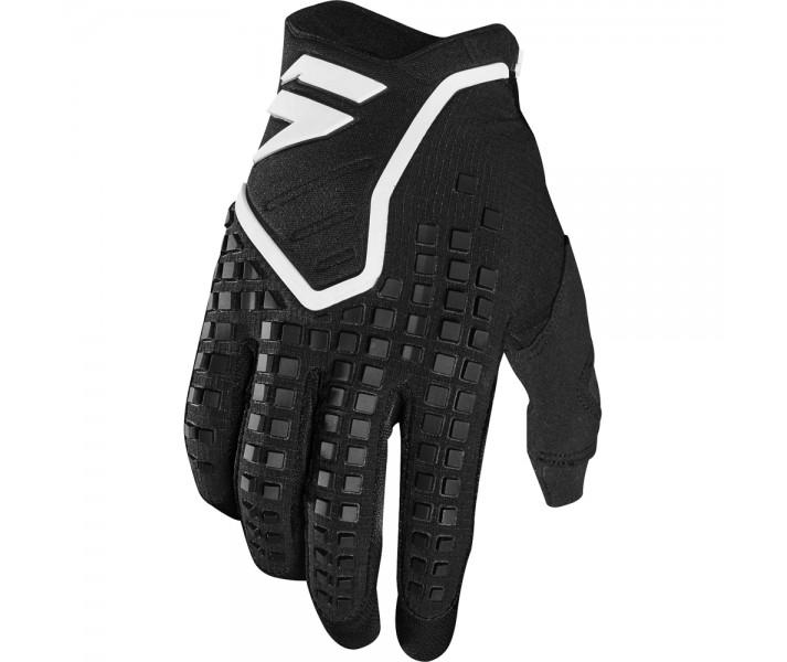 guante shfit 3lack pro glove negro/blanco talle l