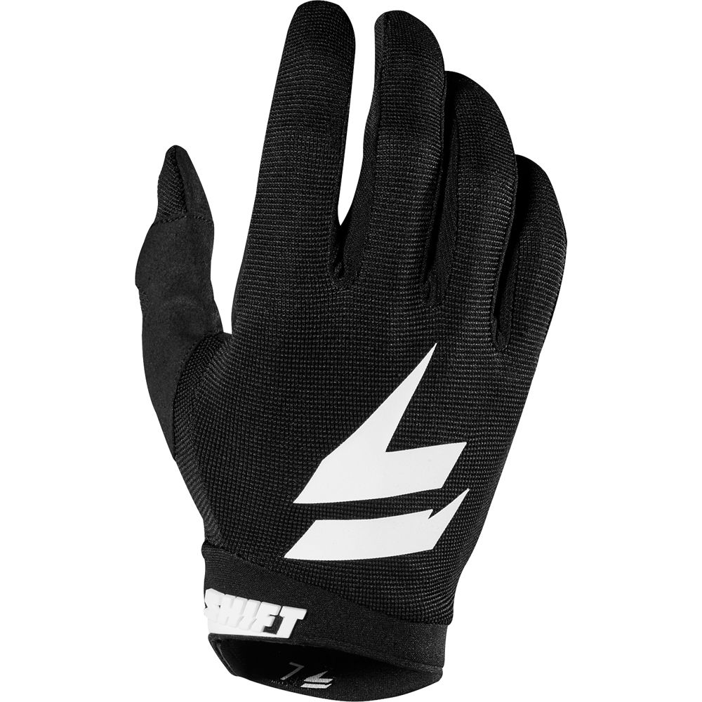 guante shift whit3 air glove negro/blanco talle s