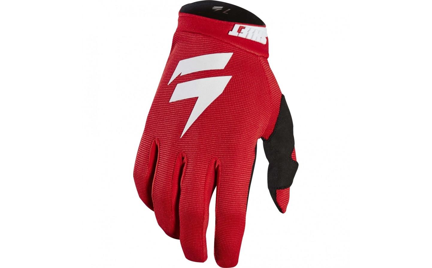 guante shift whit3 air glove rojo/blanco talle l