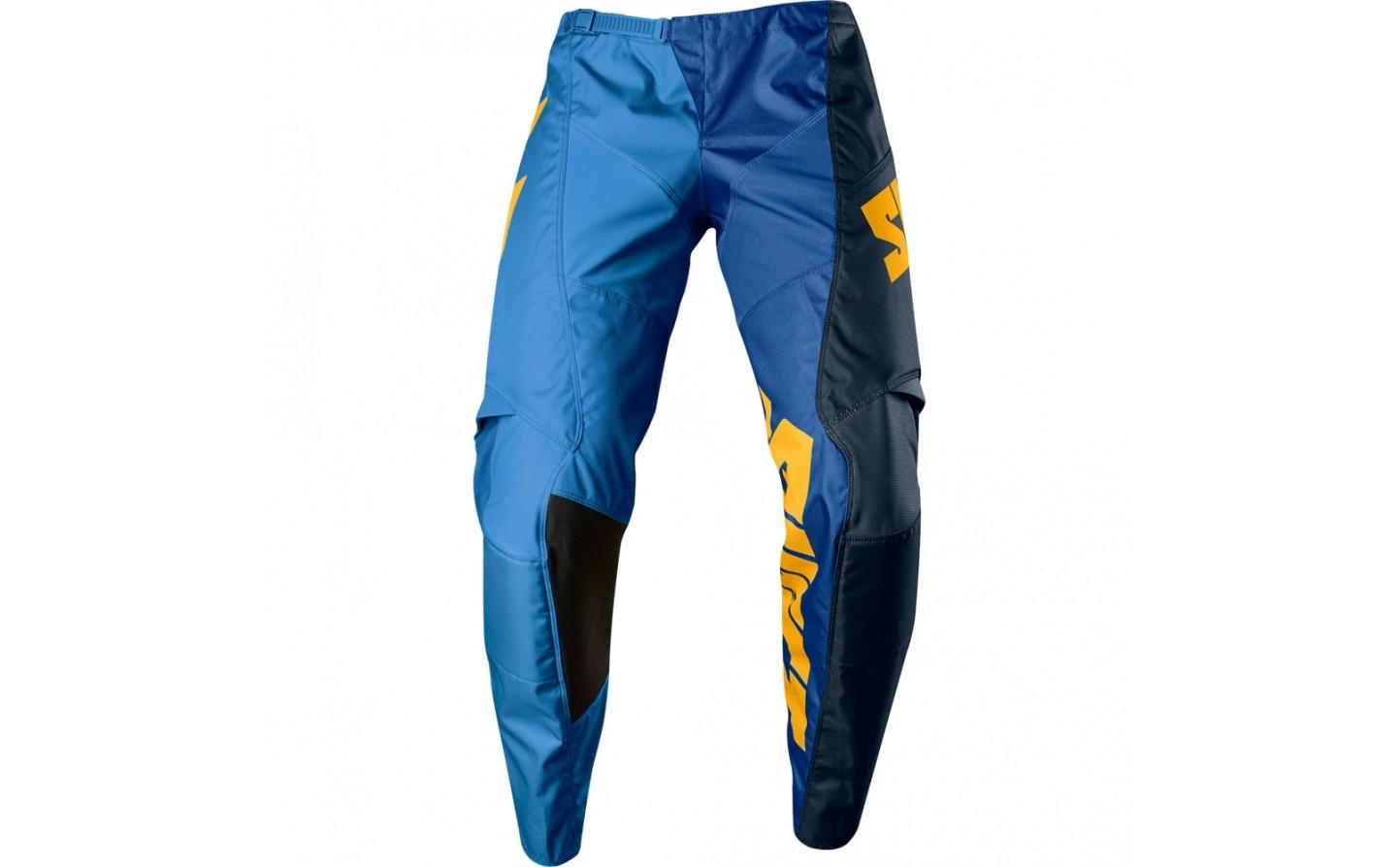 pantalon shift label whit3 tarmac azul talle 38