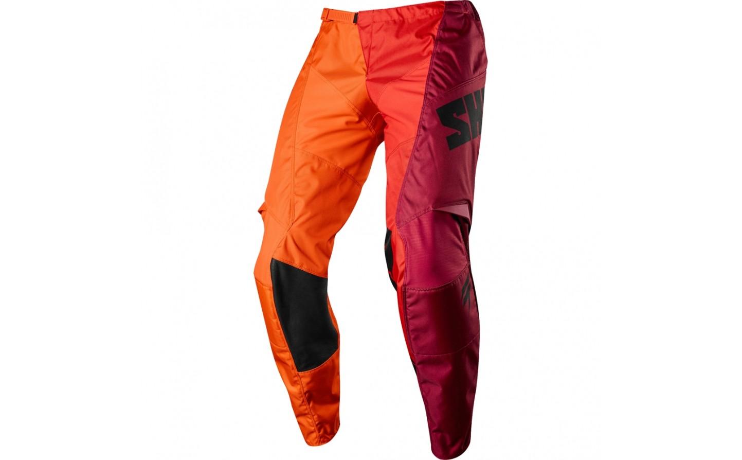 pantalon shift label whit3 tarmac naranja talle 34