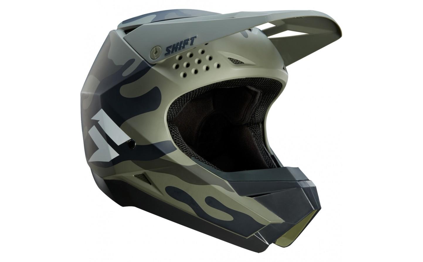 casco shift whit3 camo talle l (59-60cm)