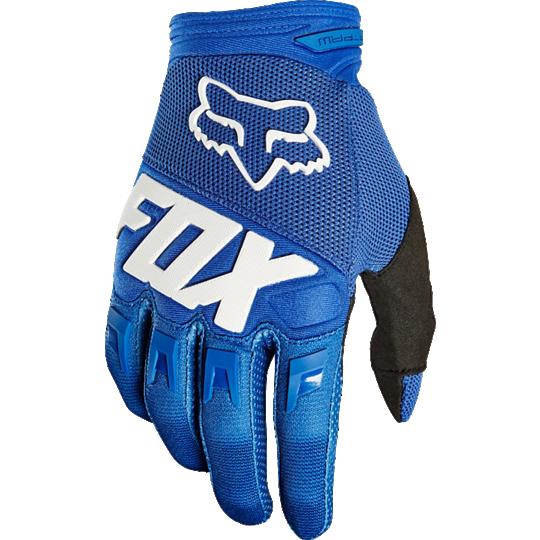 guante dirtpaw race talle xxl azul fox