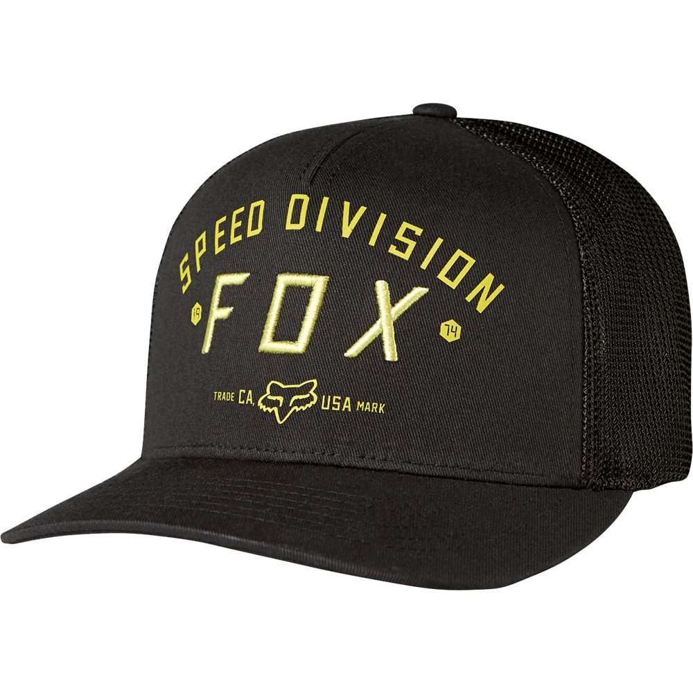 gorra fox speed division flexfit talle s/m